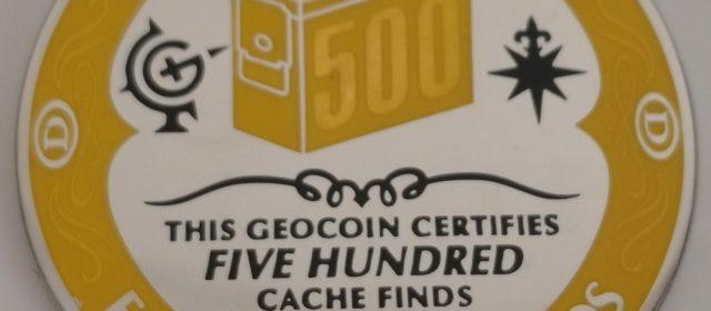 Cap des 500 caches!